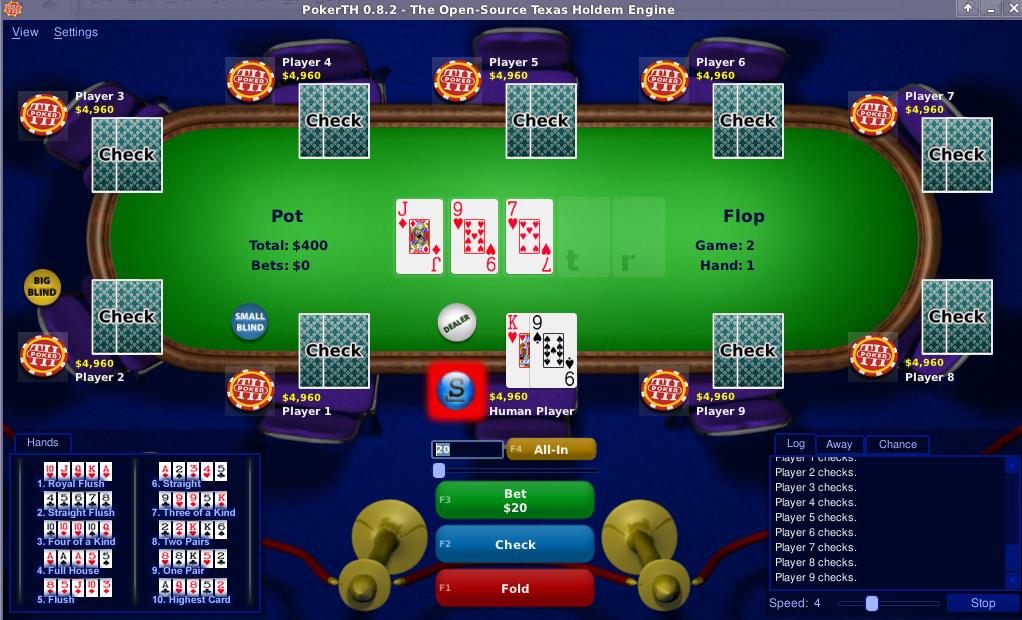 Poker Linux